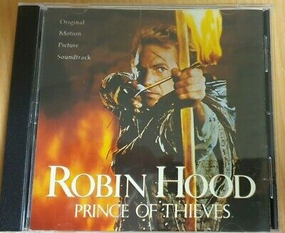 CD - Robin Hood Prince Of Thieves Original Motion Picture Soundtrack - Preowned • 5£