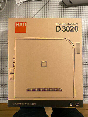 NAD D3020 Hybrid Digital Integrated Amplifier Boxed -small Fault • 265£