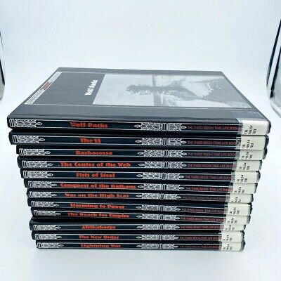 The Third Reich Time Life Books (12 Volumes) LOT • 32.61£