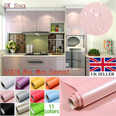 UK Self Adhesive Liner Cover Wall Sticker Cupboard Furniture Door Drawer Paper • 10.24£