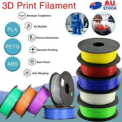 AU19.09 • Buy 3D Printer Filament PLA/PETG/ABS 1.75mm Accuracy +/- 0.02mm Engineer Drawing Art