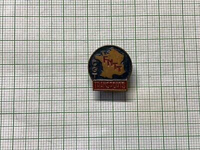 General Confederation Of Labour Transports Buttonhole Pin Badge • 7.99£