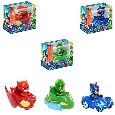 3pcs Pj Masks Characters Catboy Owlette Gekko Action Figure Kids Toy UK STOCK • 7.59£