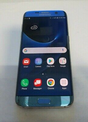 $ CDN75.87 • Buy Samsung Galaxy S7 Edge(SM-G935V) Blue - Verizon - LCD BURN