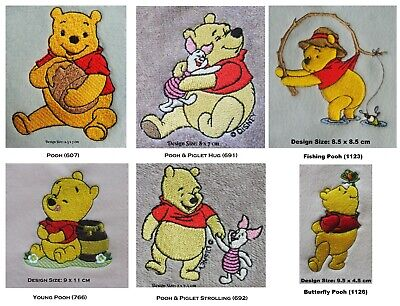£15.75 • Buy Winnie The Pooh Designs (A) - Embroidered Personalised Cotton Bath Or Hand Towel
