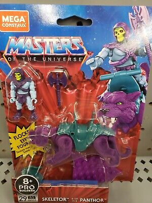 $29.89 • Buy NEW SKELETOR And PANTHOR - MASTERS OF THE UNIVERSE MEGA CONSTRUX