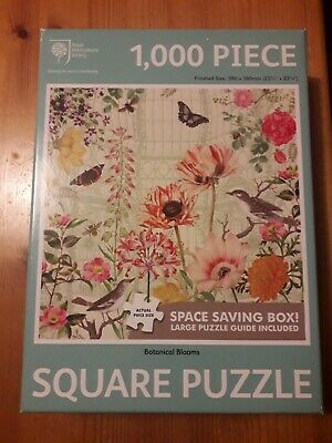 Royal Horticultural Society Botanical Blooms 1000 Piece Square Puzzle • 1.10£