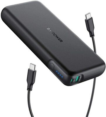 AU109.95 • Buy RAVPower 20000mAh 60W PD Power Bank Portable Laptop Phone Charger 3.0 USB-C AUS