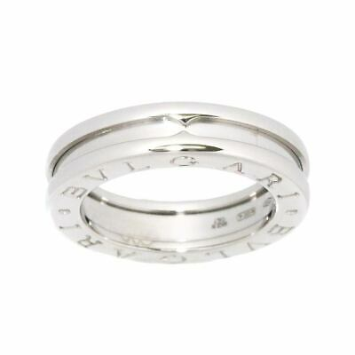 AU768.75 • Buy BVLGARI B-zero1 Ring 18K WG White Gold 750 Size48 4.5(US) 90116275