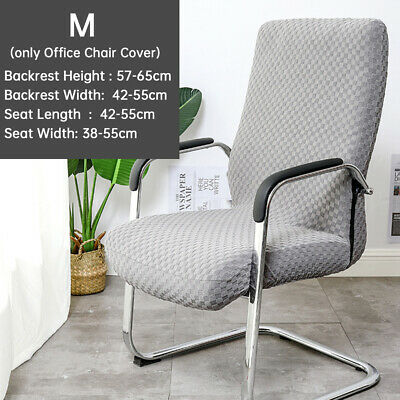 AU25.99 • Buy Knitted Jacquard Computer Seat Durable Home Stretch Office Chair Cover Armchair