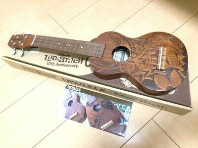 AU1150.95 • Buy Disney Lilo & Stitch 10th KIWAYA Ukulele Instrument Limited 203 From Japan Used