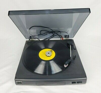 AU100 • Buy Sony PS-LX56 Stereo Vinyl Record Player Black Turntable