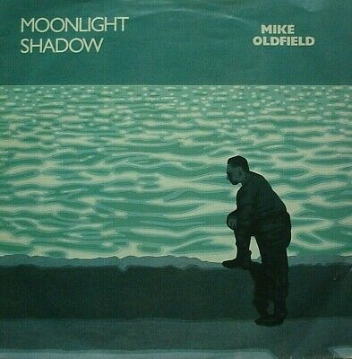 Mike Oldfield, Moonlight Shadow / Right Of Man, Virgin 7inch 45rpm • 0.99£