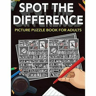 £8.33 • Buy Spot The Difference: Picture Puzzle Book For Adults - Paperback / Softback NEW P