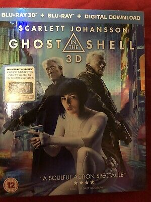 Ghost In The Shell [ 3D Blu-Ray 2017] • 5.50£