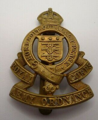 Royal Army Ordnance Corps Genuine Cap Badge  • 7.99£