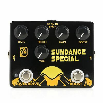 CALINE DCP-06 SUNDANCE SPECIAL Xotic BB + Boost Pedal 2-IN-1 PEDAL! • 50.98£