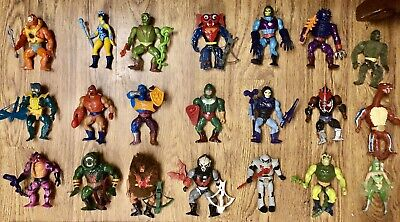 $148 • Buy Lot Of 22 Vintage He-Man & She-Ra Villains W/ Weapons, Armor, Accessories MOTU