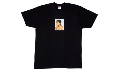 $ CDN301.61 • Buy DS New Supreme Muhammad Ali Tee T-shirt SS16 Rare Box Bogo LARGE L Black Warhol
