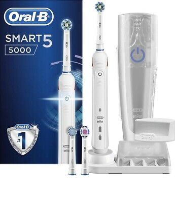 AU133.75 • Buy Oral-B Smart 5 5000 CrossAction Electric Toothbrush