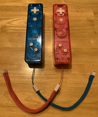 $ CDN37.97 • Buy Nintendo Wii Blue And Pink Rock Candy 2 Wiimote Remote Controllers Wii Wii U!