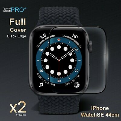 AU4.95 • Buy Apple IWatch 1 2 3 4 5 6 SE 38 40 42&44 Mm Tempered Glass FULL Screen Protector