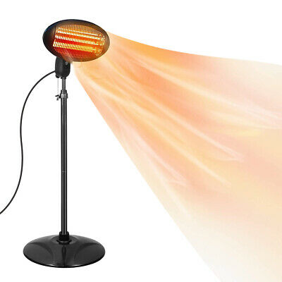 2kw Electric Patio Heater Garden Free Standing Outdoor 2000W - 24HR DELIVERY  • 74.95£