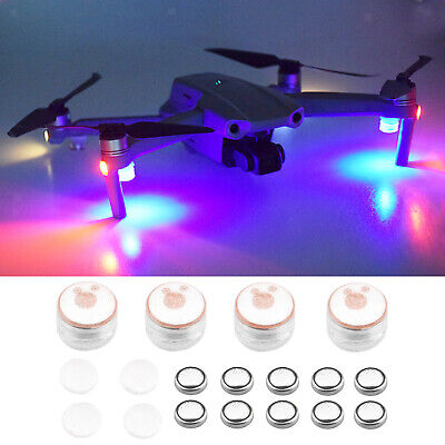 AU16.49 • Buy Drone Night Flight Light & Battery Kit For DJI Mavic Air 2 Spark Accessories