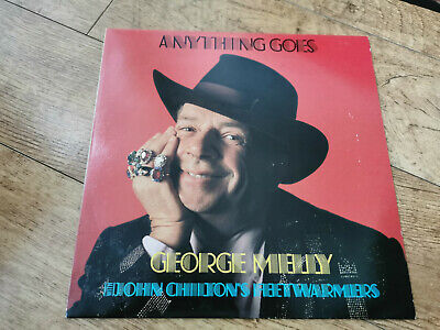 George Melly With John Chilton's Feetwarmers  Anything Goes UK Vinyl LP Record  • 3.99£