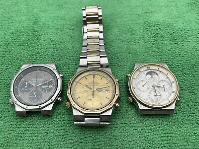 $ CDN88.06 • Buy Vintage Seiko Royal Oak 7A38 7A48 Chronograph Lot For Parts Or Repair Only