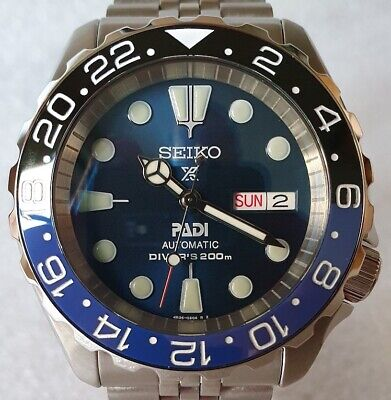 $ CDN737.13 • Buy SEIKO SKX007 Mod  Batman V4  Mod NH36A Jubilee Bracelet New Condition