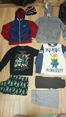 Boys Bundle Of Clothes Age 7-8 Years By M&S,Mckenzie,Next & Others  • 5.50£