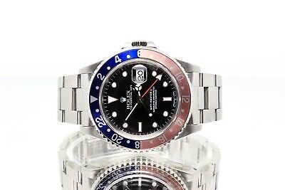 $ CDN15871.54 • Buy 1997 Rolex GMT-Master II Pepsi 16710 T25 Steel Watch