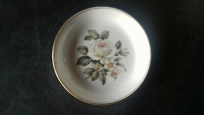 Royal Worcester Pin Dish With A Floral Pattern • 5£