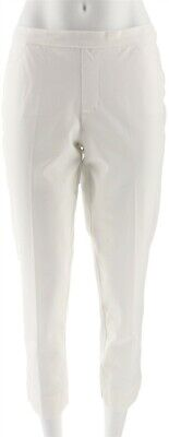 $ CDN2.51 • Buy Isaac Mizrahi Petite 24/7 Stretch Ankle Pants Bright White 6P # A300894
