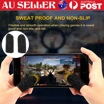 AU3.99 • Buy Finger Sleeve Touch Screen Non-slip Thumb Breathable Sleeve For Mobile Game
