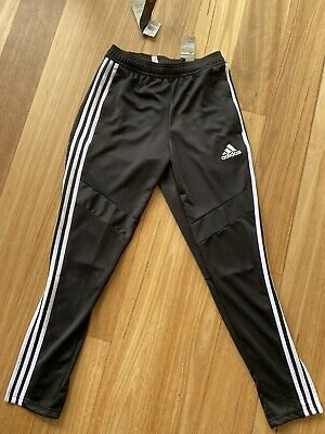 AU30 • Buy BNWT Adidas Black Track Pants Bottoms Size Small Tapered Fit. Brighton VIC 3186