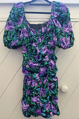 AU10 • Buy Bershka Going Out Floral Dress Size S Brand New
