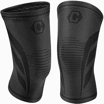 $8.99 • Buy Cambivo 2 Pack Knee Brace, Knee Compression Sleeves For Men And Women, Knee Supp