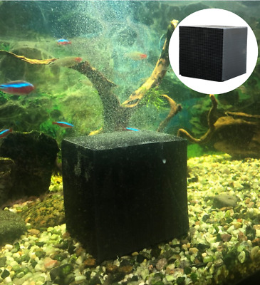 £11.98 • Buy Fish Tank Water Purifier Cube Aquarium Filter Cleaning Activated Carbon Nano UK