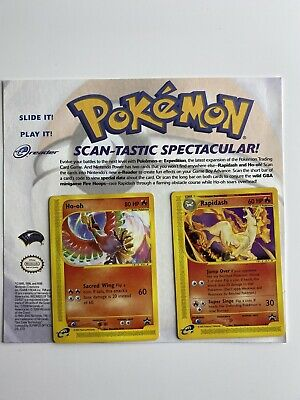 $70 • Buy Pokemon Cards - Scan-Tastic Spectacular Promo - Ho-oh And Rapidash - E Series