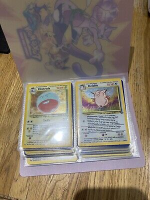 Jungle Set Pokemon Cards NM/M Complete 64/64 WOTC Excellent Condition 1999 • 160£
