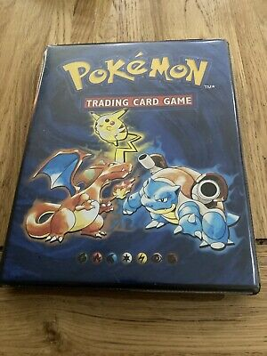 Pokemon Cards Base Set Complete 102/102 - Original Folder - RARE! • 410£