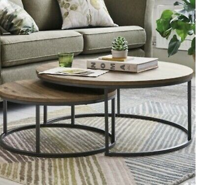 Next Bronx Round Coffee Tables  • 102£