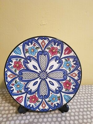 Spanish Hand Made Decorative Plate By Ceraplat • 5.80£