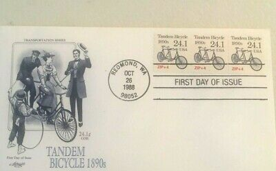 $ CDN5.10 • Buy Collection USA Transportation Issue 3 First Days 3 Sets Of Stamps N-80