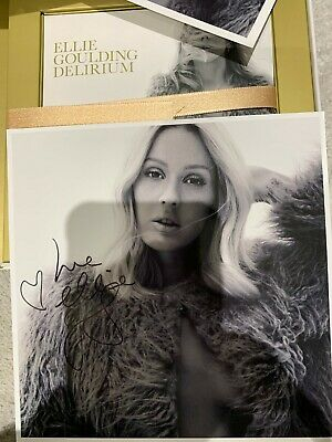 Ellie Goulding Delirium Deluxe CD With Great Signed Print Mint Unplayed • 30£