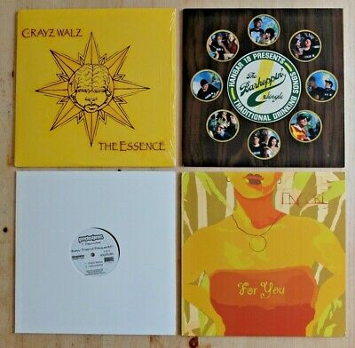 4 X Indie Underground Hip Hop 12  Vinyl Records Job Lot DJ Bundle Def Jux 75 Ark • 8£