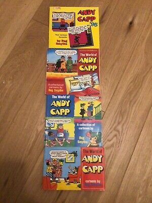 Andy Capp Cartoon Books - 4 In Total • 4.99£