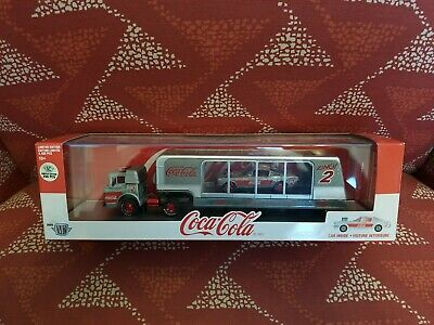 $ CDN140.35 • Buy M2 Machines Coca Cola Hauler C-600 & 66 Ford Mustang Fastback RAW Chase  1/250